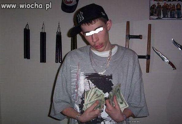 Taki z niego gangster