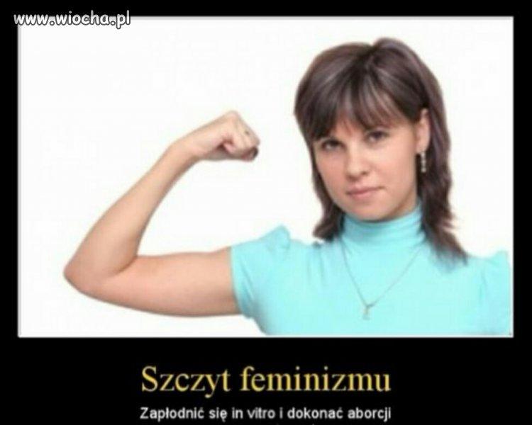 Szczyt feminizmu?