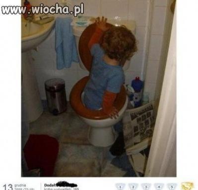 Kąpiel bobasa