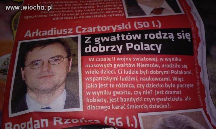 Poseł Arkadiusz Czartoryski.