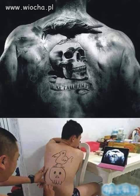 Zrób mi pan taki fajny tatuaż
