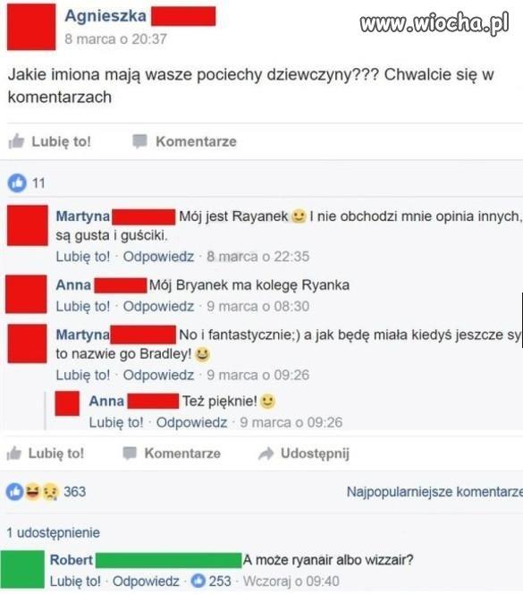 A możę Ryanari albo Wizzari?