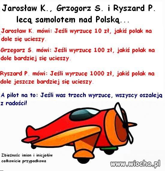 Jarosław K., Grzegorz S. i Ryszard P.