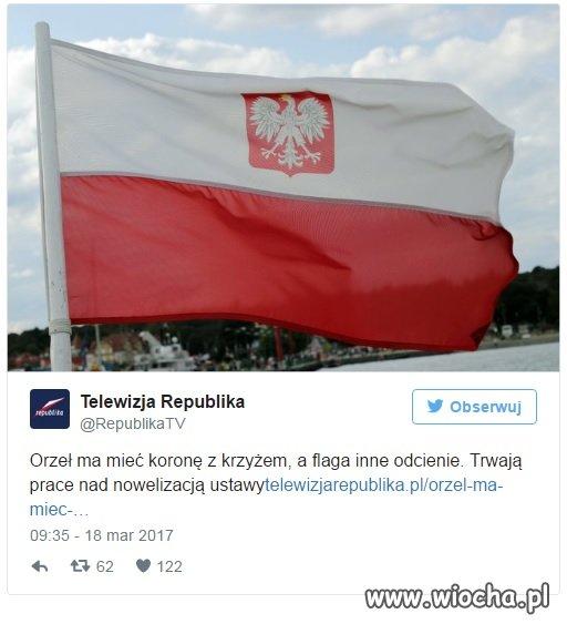 Wara wam od flagi i godła!!!