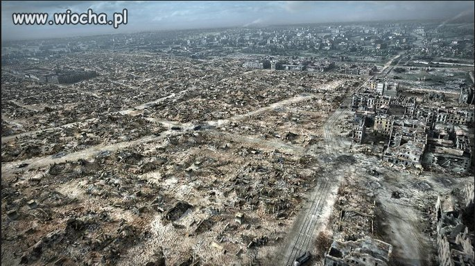 Tak wyglądała Warszawa po obaleniu powstania ...