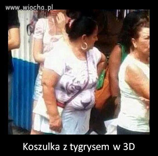 Koszulka 3D