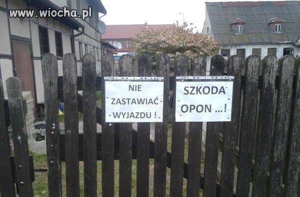 Zaparkowałbyś?