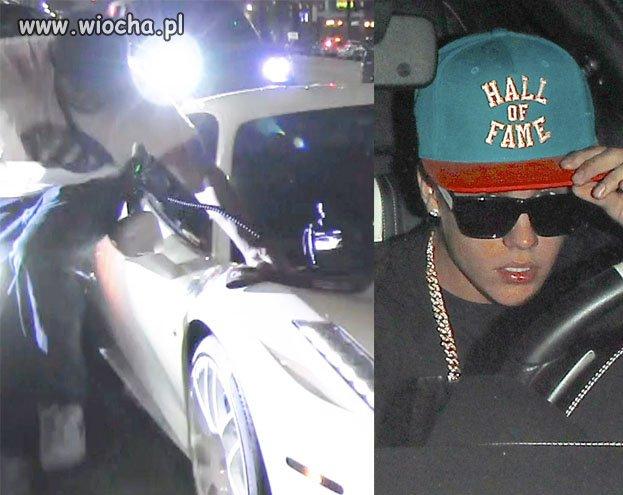 Bieber potrącił człowieka, uciekł z miejsca wypadku