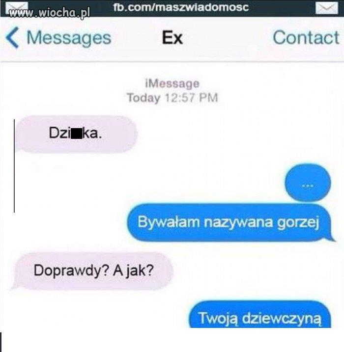 Rozmowa z Ex