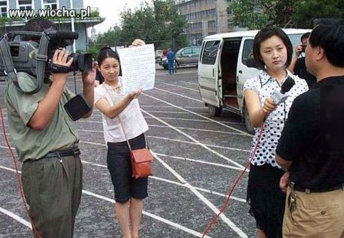 Korea, przypadkowy wywiad na ulicy