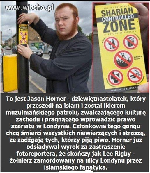 Rudy konwertyta chce prawa szariatu w Londynie