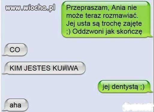 Ania nie może teraz rozmawiać...