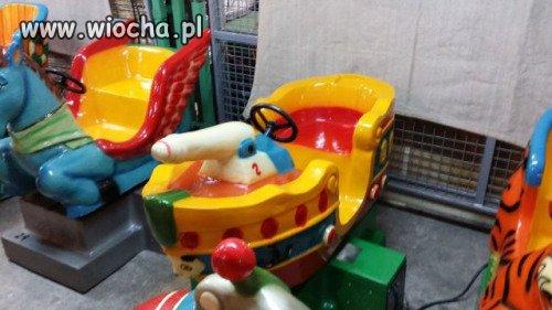 Statek tylko dla dzieci