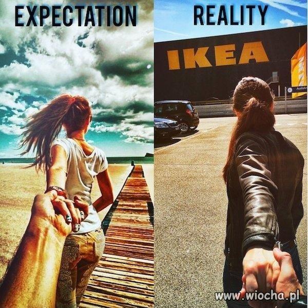 Oczekiwania kontra rzeczywistość