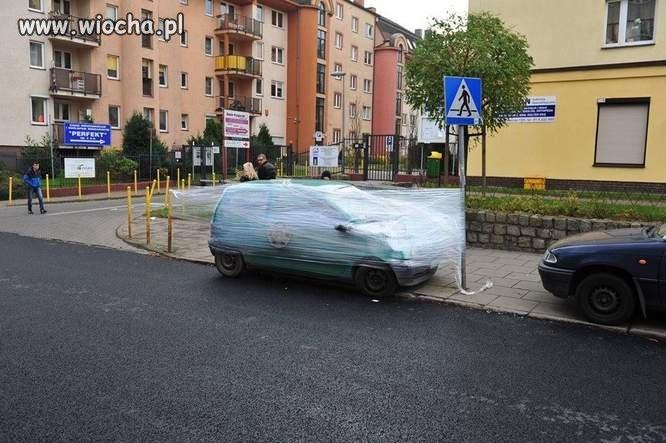Chu*owe parkowanie
