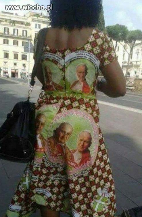 Wynik łączenia wiary z modą
