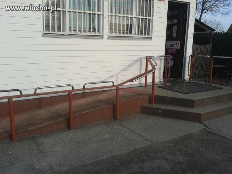 Podjazd dla inwalidów