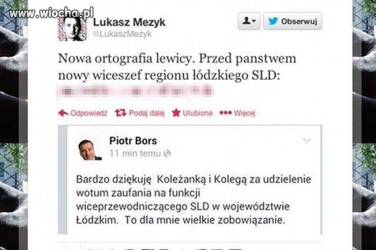Ortografia lewicy