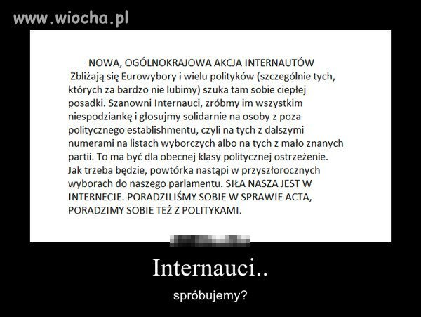 Do internaut�w: