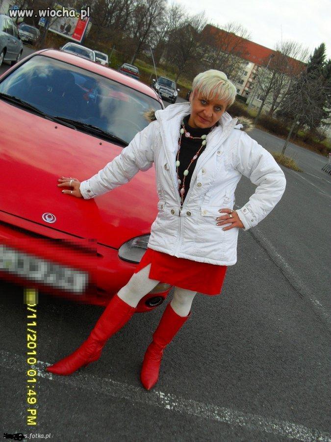 Lans hot 40 stki na czerwony samochód