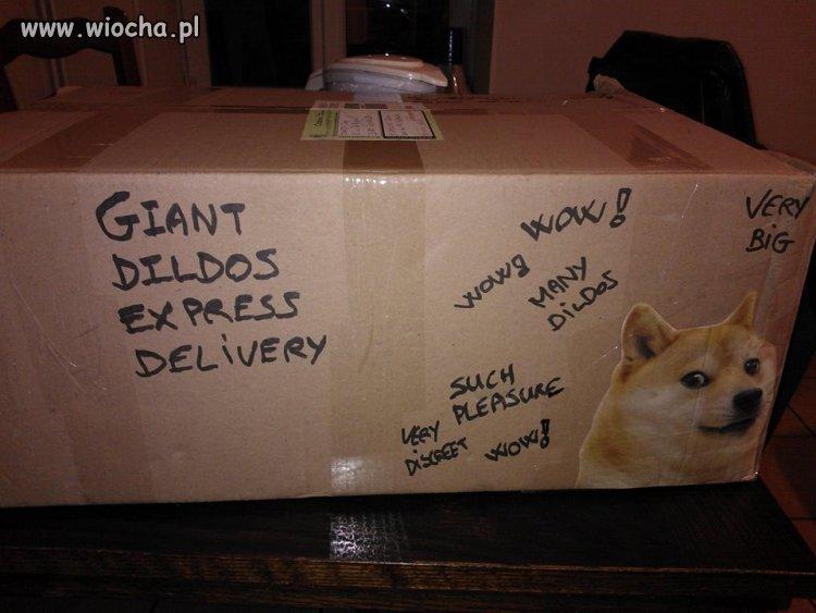 Koleś wysłał paczkę do swojej byłej
