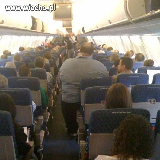Aż dziw, że samolot