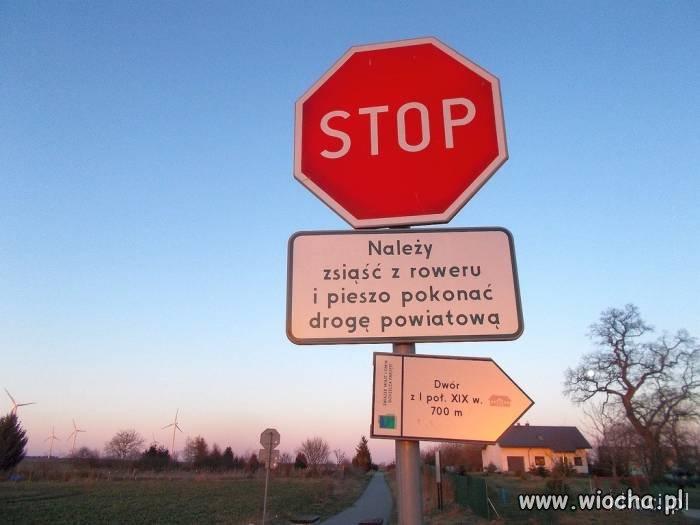 Takie znaki tylko w Polsce