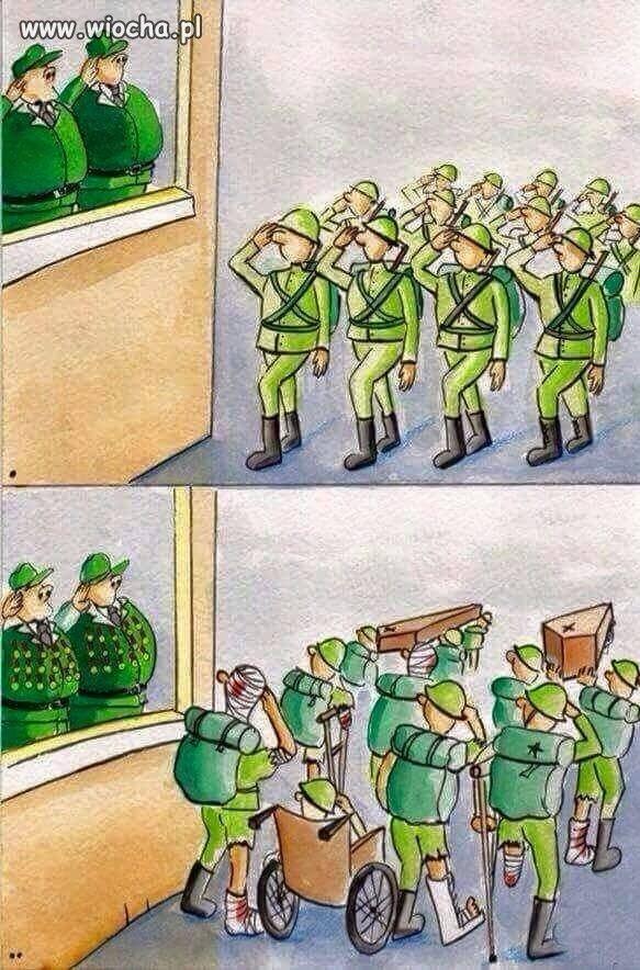 Taka prawda wojska...