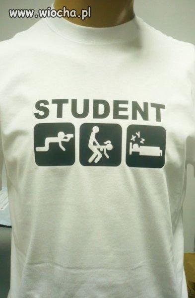 Wesołe jest życie studenta.