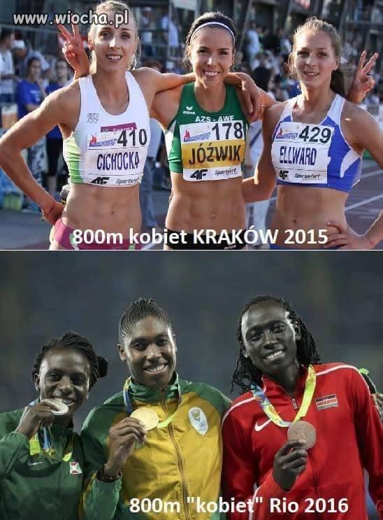 Małe porównanie.