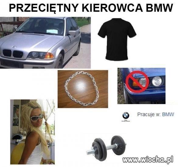 Kierowca BMW