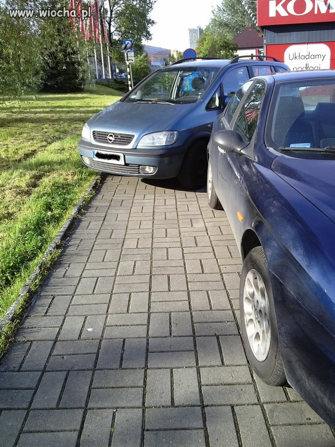 Jeden z krakowskich chodników