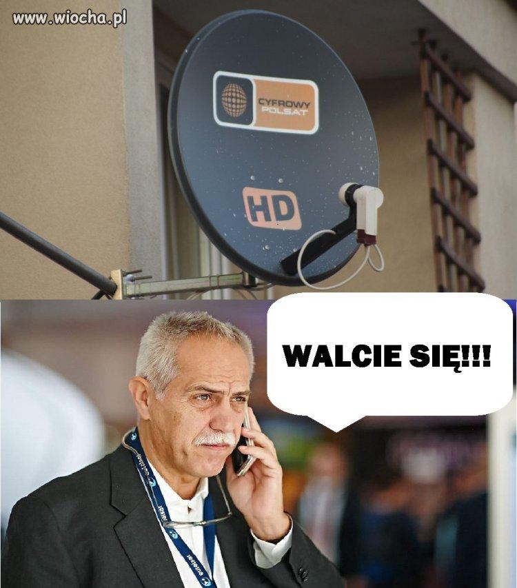 Polsat nie będzie donosił na swoich klientów