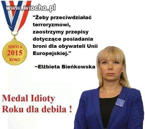 Medal idioty roku 2016 został wręczony