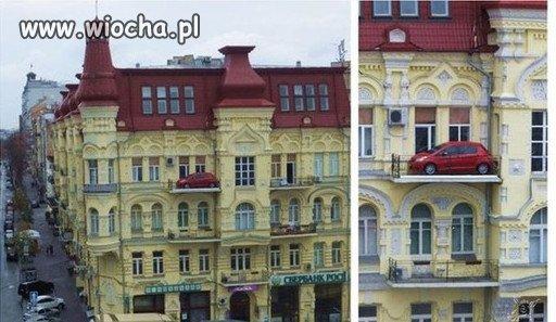 Kochanie gdzie zaparkowałeś ?