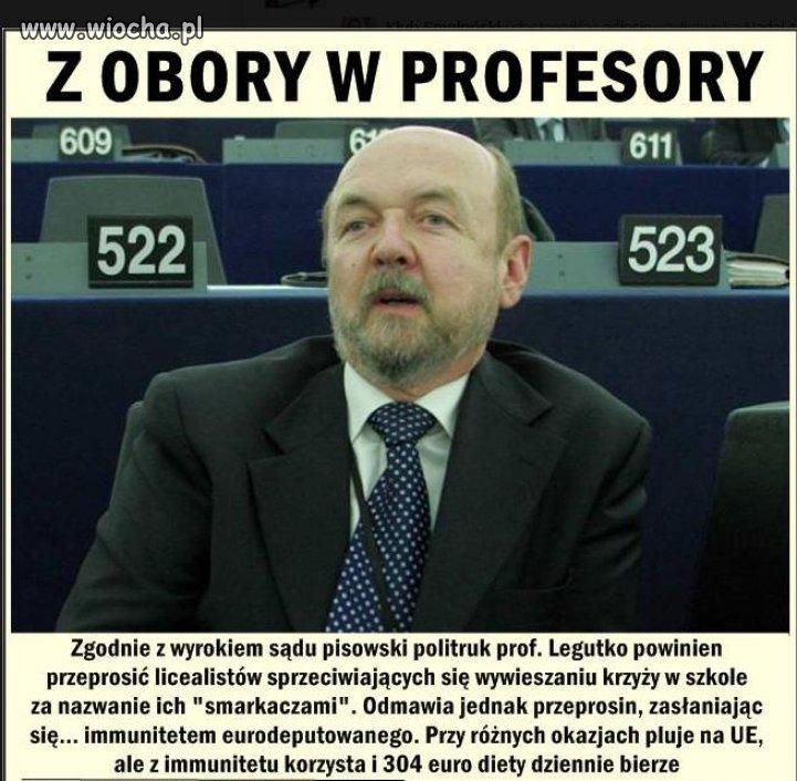 Pluje na UE, ale 304 euro diety dziennie bierze...