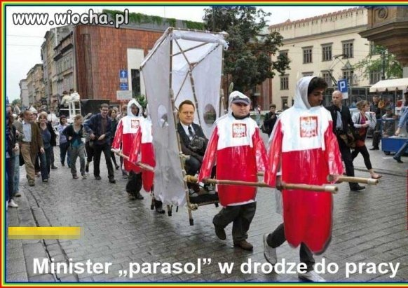 "Minister ""parasol"""