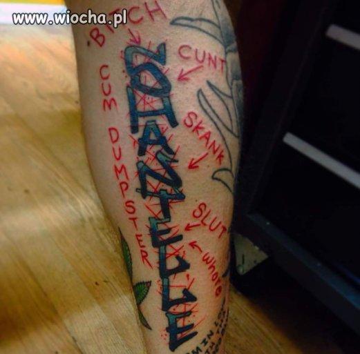 Tatuaż po byłej