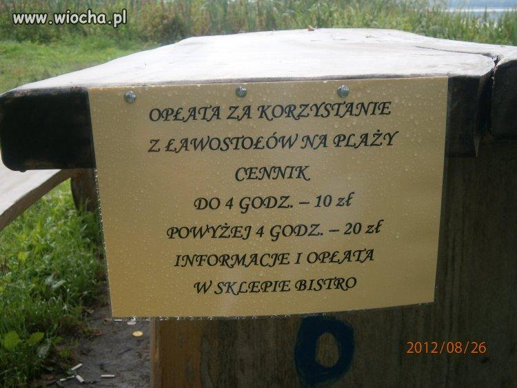 Nad jeziorem w Koszelówce