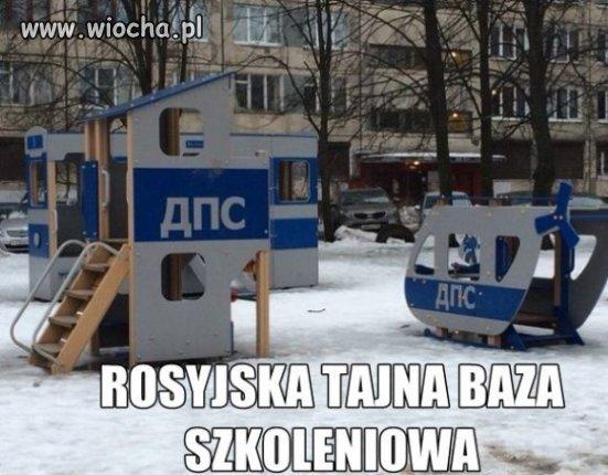 Rosyjska tajna baza