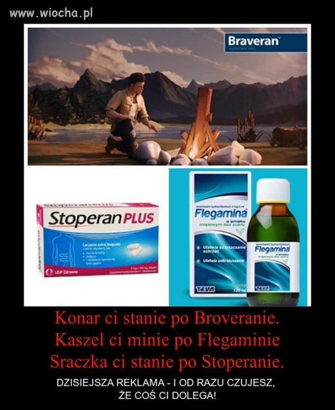 Reklamy środków farmaceutycznych