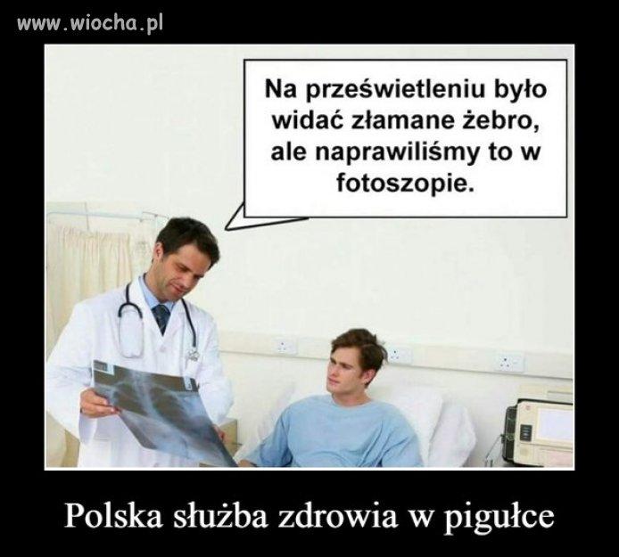 Cuda PiSowskiej służby zdrowia.