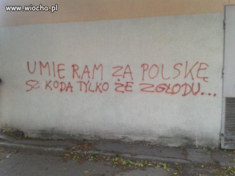 Umieram za Polsk�