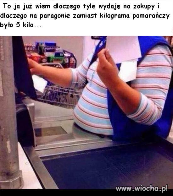 Już wiem dlaczego zamiast kilograma