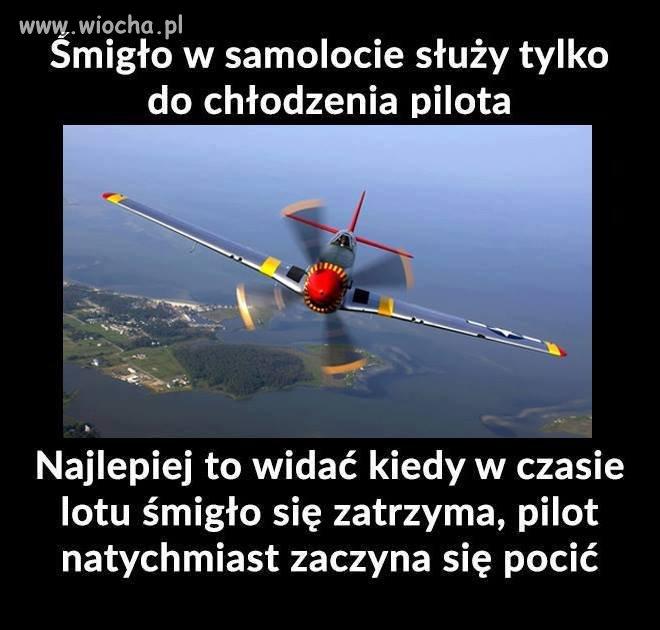 Zastosowanie śmigła w samolocie