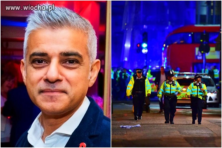 """Burmistrz Londynu: """"zamachy terrorystyczne"""
