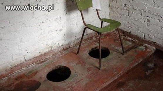 Pięciogwiazdkowa toaleta