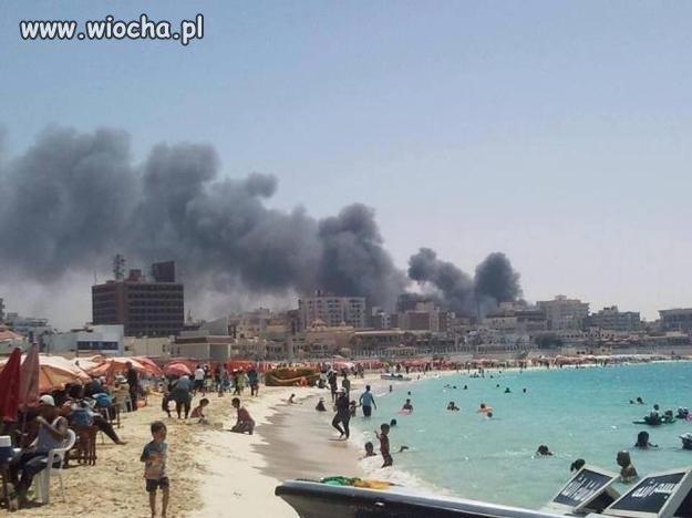 Znieczulica turystów na ludzkie tragedie zerowa