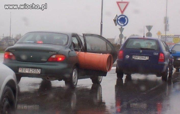 Po co płacić za transport jak można samemu...