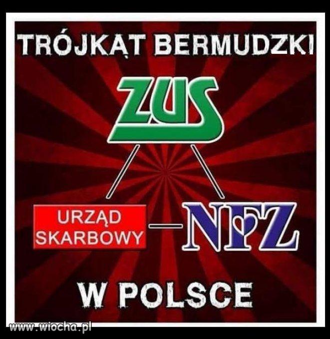Polski trójkąt bermudzki.